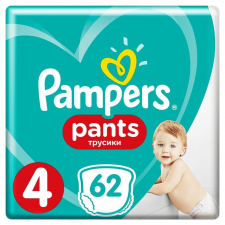 Pampers Pants 4 (9-15 kg) Giant Pack 62 ks pelenka