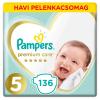 Pampers Premium Care havi Pelenkacsomag 11-16kg Junior 5 (136db)