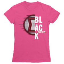Pamutlabor Marvel - Fekete Özvegy női póló női póló