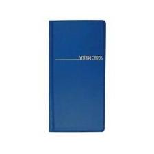 Pana Plast Névjegytartó, 96 db-os, PANTAPLAST, kék névjegytartó