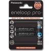 Panasonic AAA 2ks 930 mAh Eneloop Pro (4HCDE/2BE) Tölthető elem