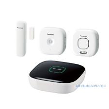 Panasonic Smart Home KX-HN6011FXW Otthon Biztonsága Kezdő csomag Plusz egyéb hálózati eszköz