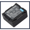 Panasonic VDR-D160E-S 7.2V 700mAh utángyártott Lithium-Ion kamera/fényképezőgép akku/akkumulátor