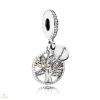 Pandora Családfa függő charm - 791728CZ
