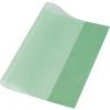 PANTA PLAST Füzet- és könyvborító, A5, PP, 80 mikron, narancsos felület, PANTA PLAST, zöld