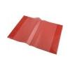 PANTA PLAST Füzet- és könyvborító, A5. PP, PANTA PLAST, piros