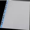 PANTA PLAST Genotherm, lefűzhető, színes szélű, fényes felületű, A4, 40 mikron, PANTA PLAST, kék