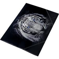 """PANTA PLAST Gumis mappa, 15 mm, PP, A4, PANTA PLAST, """"Tiger"""" mappa"""