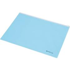 PANTA PLAST Irattartó tasak, A4, PP, cipzáras, PANTA PLAST, pasztell kék tasak