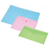 PANTA PLAST Irattartó tasak, DL, PP, patentos, PANTA PLAST, pasztell rózsaszín