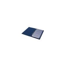 PANTA PLAST Névjegytartó, 200 db-os, gyûrûs, PANTAPLAST, fekete névjegytartó