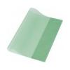 PANTA PLAST Panta Plast Füzetborító, A4, PP, 80 mikron, narancsos felület, PANTA PLAST, zöld