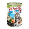 Panzi Állateledel konzerv PANZI FitActive felnőtt macskának hús-mix 415 g