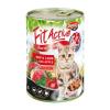 Panzi Állateledel konzerv PANZI FitActive junior macskának marha- és bárányhússal 415 g