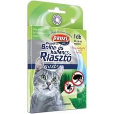 Panzi bolha- és kullancsriasztó nyakörv macskáknak (43 cm; Zöld) macskafelszerelés