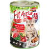 Panzi FitActive Cat Junior Beef & Lamb with Apple (24 x 415 g) 9.96kg
