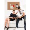 Parafatábla Bi-Office fakeretes 60x90 cm
