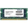 Patriot 8GB 1600MHz CL11 DDR3 SODIMM memória