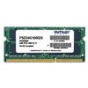 Patriot SO-DIMM 4 gigabájt DDR3 1600MHz CL11 aláírási sor