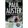 Paul Auster Report from the Interior