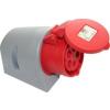 PCE felületre szerelhető ipari dugaszoló aljzat 5 pólusu 16A 380V IP44