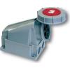 PCE felületre szerelhető ipari dugaszoló aljzat 5 pólusu 63A 380V IP67