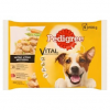 Pedigree Vital Protection teljes értékű állateledel felnőtt kutyák számára mártásban 4 x 100 g