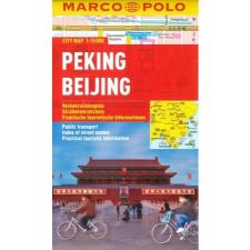 Peking vízhatlan várostérkép tömegközlekedéssel - Marco Polo térkép