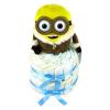 Pelenkatorta Webshop Babaváró ajándék ötlet: Minion IceVillage Bob pelenkatorta kék