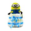 Pelenkatorta Webshop Babaváró ajándék ötlet: Minion Jerry pelenkatorta kék