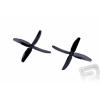 PELIKAN 4-ágú légcsavar 5x4 CW/CCW - fekete (1 pár)