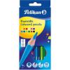 PELIKAN : Hatszögletű színes ceruza 12 darabos