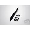 PELIKAN Légcsavar 6x4 CW/CCW - fekete (1 pár)