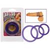 Pénisz- és heregyűrű szett - lila