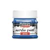 Pentacolor Kft. Pentart Fényes kék színű akril bázisú hobbi festék 50 ml