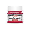 Pentacolor Kft. Pentart Fényes rúzspiros színű akril bázisú hobbi festék 50 ml