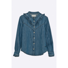 Pepe Jeans - Gyerek ing Rosy Ruffled 122-176 cm - kék - 1124415-kék