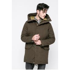 Pepe Jeans - Kapucnis kabát Brenton - zöld