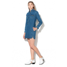 Pepe Jeans London , Iris straight fit farmerruha, Sötétkék, M (PL952412-000-M)