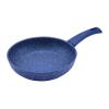 Perfect home 12574 Serpenyő tapadásmentes bevonattal kék márványos 20 cm