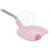 Perfect home Műanyag sütőlapát rózsaszín 12691