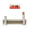Perogáz Peró Gáz T17 SZ R 28 Fali mérő szerelősín réz 28, burkolat nélkül