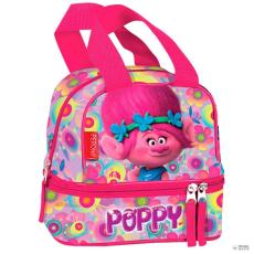 PERONA táska táska Trolls Trollok Poppy virágos dupla zseb gyerek
