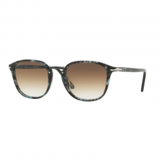 Persol PO3186S 106251 SPOTTED BLUE DARK GREY CLEAR GRADIENT BROWN napszemüveg