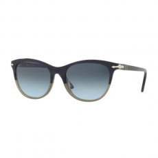 Persol PO3190S 106786 GREEN STRIPPED BEIGE GRAD GREEN LIGHT BLUE GRADIENT GREY napszemüveg