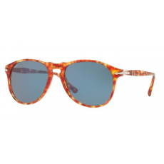 Persol PO6649 106056 RED TORTOISE LIGHT BLUE napszemüveg