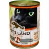 PET'S LAND Cat konzerv baromfival (48 x 415 g) 19.92kg