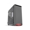 PHANTEKS Eclipse P400 Tempered Glass, Black/Red (PH-EC416PTG_BR)