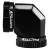 PHANTEKS Glacier Hard-Tube Adapter 2x 16mm 90 fok - fekete (PH-A90_BK_16)