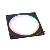 PHANTEKS Halos 140mm- keret, RGB-LED - fekete (PH-FF140RGBP_BK01)